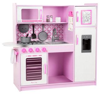Melissa & Doug Pink Chef's Kitchen & AccessorySet Bundle - T127741