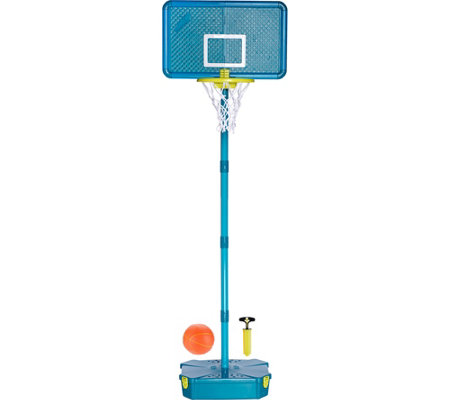 Portable Basketball Hoop & Ball with Adjustable Pole & Carry Case