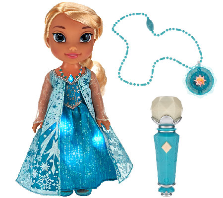"""As Is"" Disney's Frozen Sing with Me Elsa w/ Light-Up Dress"