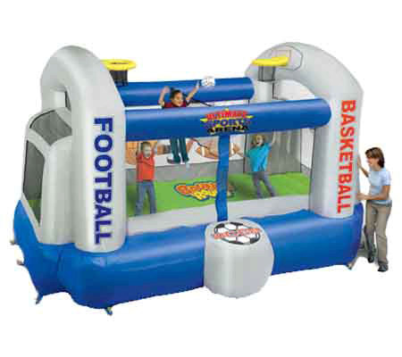 Ultimate Sports Inflatable Bouncer By Bounce Round 61