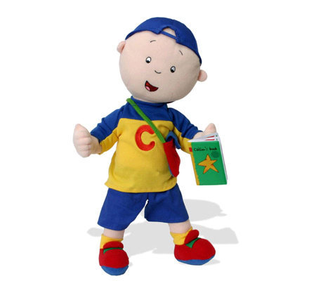 Talking Caillou Plush Doll