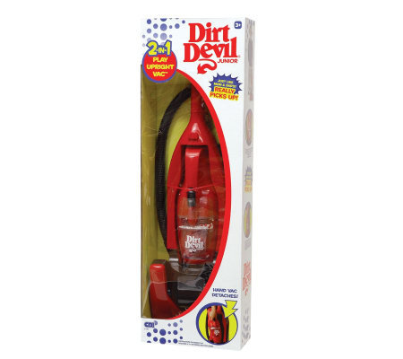 Dirt Devil 2 In 1 Toy Vacuum
