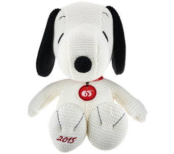 """As Is"" 65th Anniversary Commemorative 15"" Snoopy Plush - T137146"