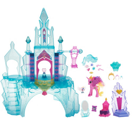My Little Pony Crystal Empire Playset w/ 2 Figures