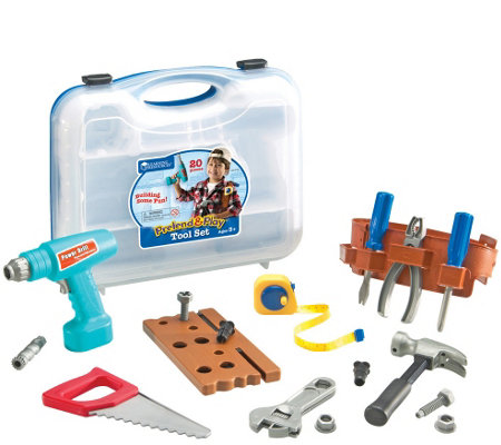 Pretend & Play Work Belt Tool Set
