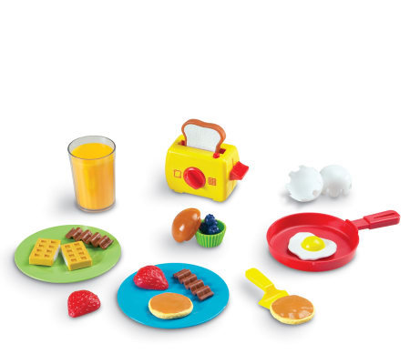 Pretend & Play Rise & Shine Breakfast St by Learning Resource