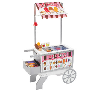 Melissa & Doug Snacks & Sweets Food Cart - T127349