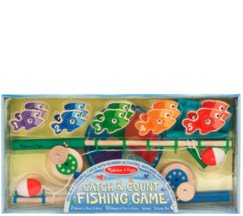 Melissa & Doug Catch & Count Fishing Game - T127649