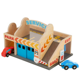 Melissa & Doug Service Station Parking Garage - T127751