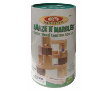 45 Piece Amaze 'N' Marbles Set in Canister - T124452