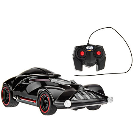 """As Is"" Hot Wheels Star Wars Darth Vader RC Vehicle"