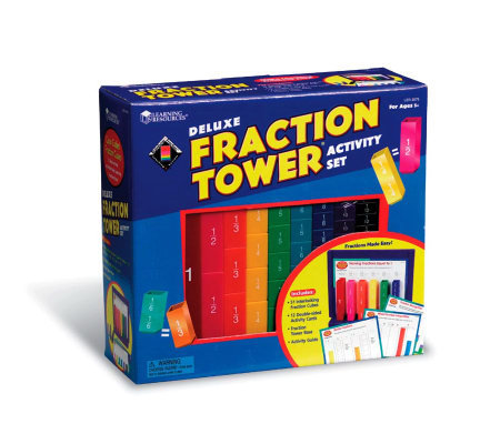 Deluxe Fraction Tower Activity Set by LearningResources