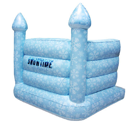 Snowtime Anytime! Inflatable Snow Castle