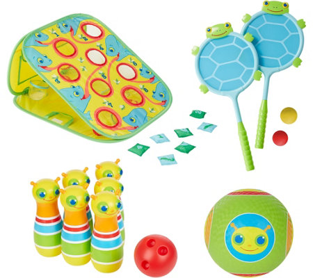 Melissa & Doug Let's Play Outdoor Games Bundle