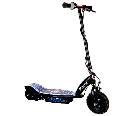 Razor e100 glow electric scooter with led lights for Razor motor scooter e100
