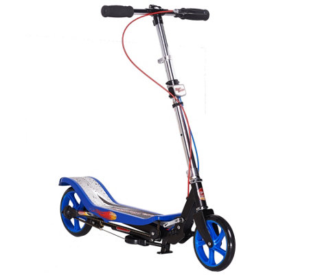 Space Scooter Deluxe with Pump & Go Movement Movement