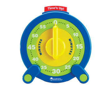 60-Minute Jumbo Timer by Learning Resources - T123156