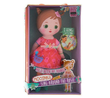 "Mooshka 15"" Sing Around The Rosie Soft Bodied Doll"