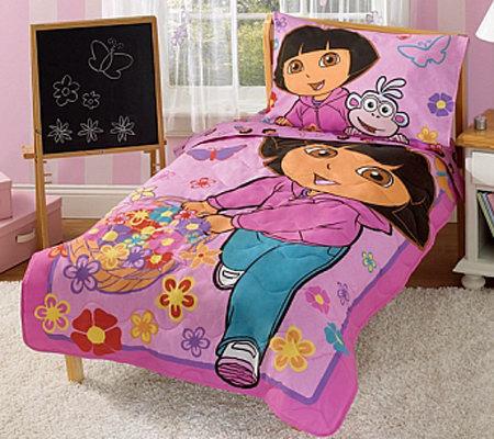 Dora Toddler Bedding Set QVC