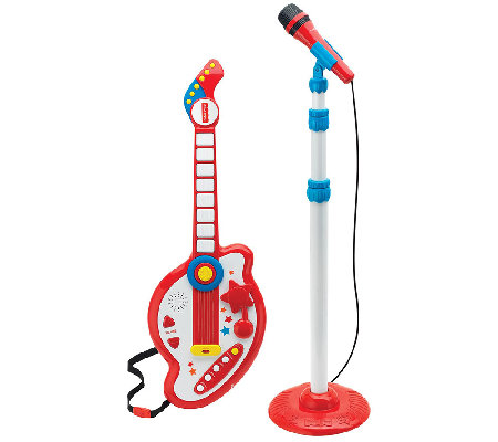 Fisher-Price Rock Star Guitar and Microphone Set