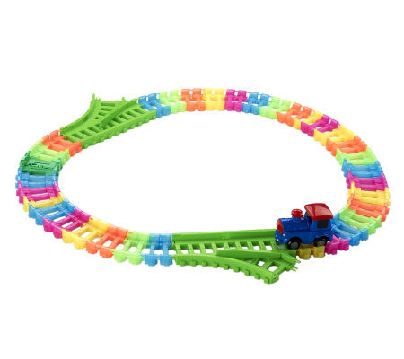 Twister Trax 6 ft. Train Glow in theDark Accessory Set
