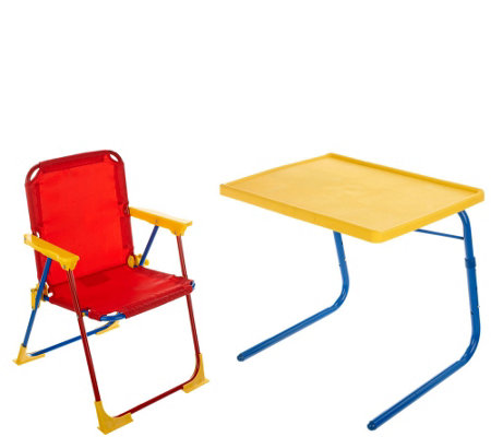Table Mate Kids Multipurpose Table Set With Chair, Case U0026 Cupholder