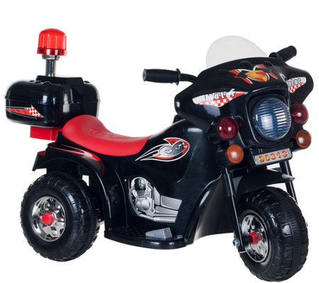 Lil' Rider SuperSport Three-Wheeled Motorcycl eRide-on