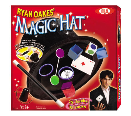 Ideal Ryan Oakes' 75-Trick Magic Hat Set