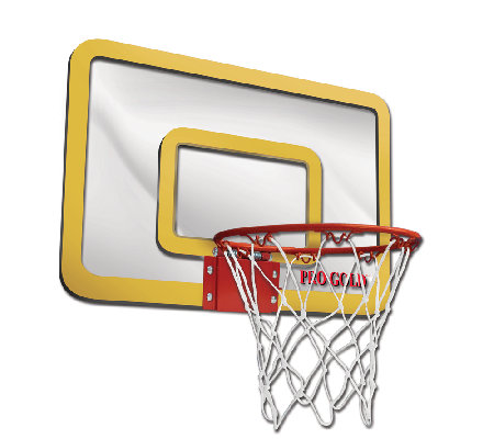 Alex Brands Pro Gold Large Basketball Hoop Set