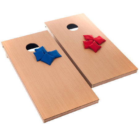 Official Size Cornhole Game by Trademark Games