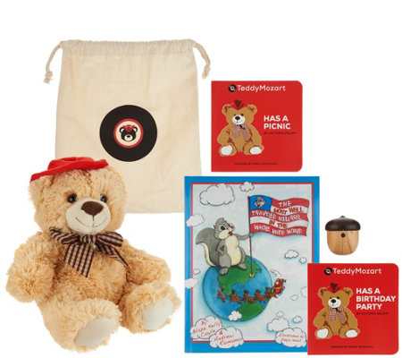 Teddy Mozart Smart Bear with Bluetooth Speaker and Stories & Music