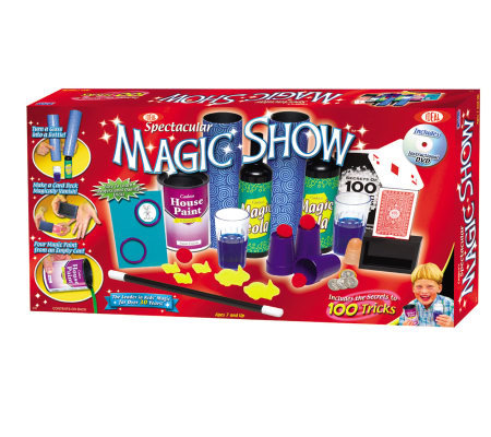 Ideal 100-Trick Spectacular Magic Show Set