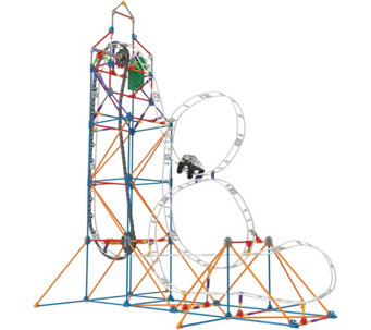 K'Nex Glow in the Dark Roller Coaster Building Set - T34066