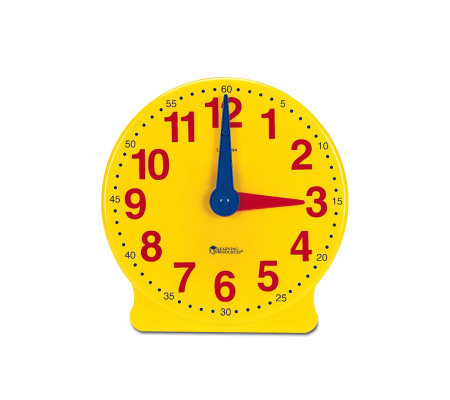 Big Time 12-Hour Demonstration Clock by Learning Resources