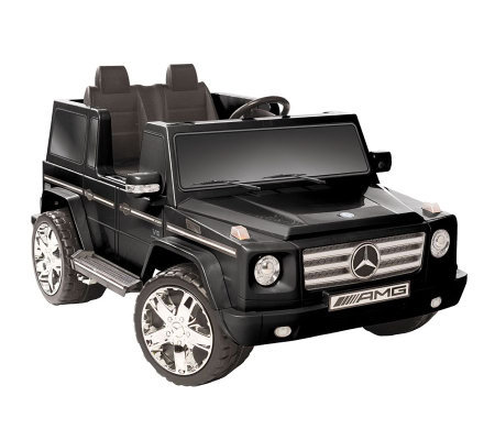 Black Mercedes Benz G55 AMG Two Seater Ride-OnCar