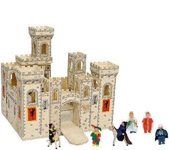 Melissa & Doug Folding Medieval Castle Set - T127567