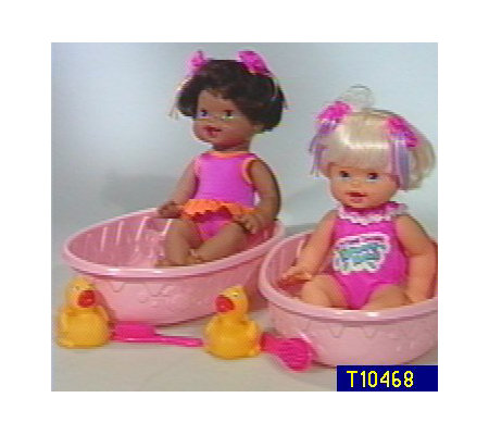 Singing Bathtime Bouncy Baby 3 Piece Set Qvc Com