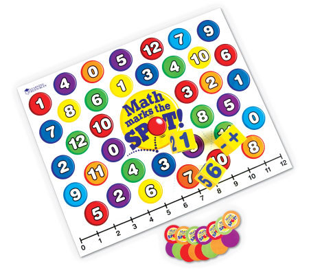 Math Marks the Spot Game by Learning Resources