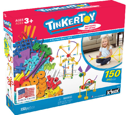 Tinkertoy Essentials Value 150-Piece Building Set