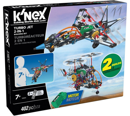 K'Nex 2-in-1 Building Set with Motor