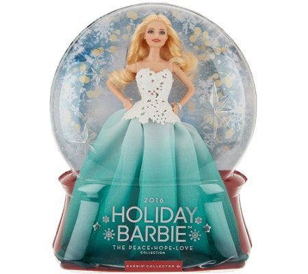 2016 Holiday Keepsake Collector Barbie Doll By: Mattel