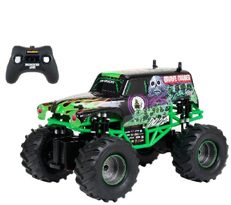 1:15 R/C Full-Function Monster Jam Grave Digger Vehicle
