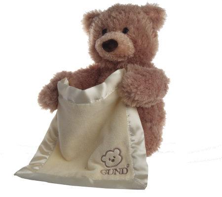 Peek A Boo Bear Interactive Huggable Plush By Gund Page