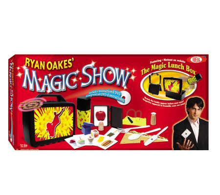 Ideal Ryan Oakes 101-Trick Magic Show with Magic Lunch Box Se