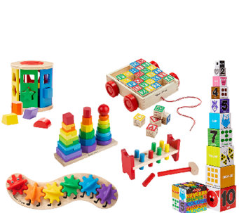 Melissa & Doug Let's Play Classic Toys Bundle - T127373