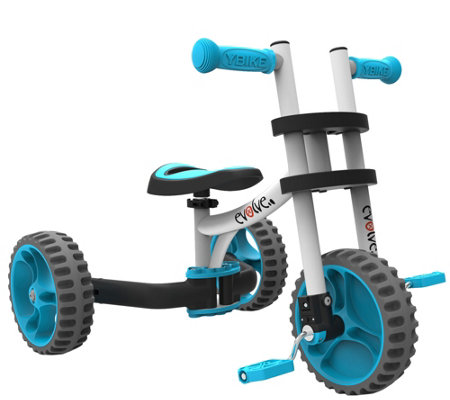 YBike Evolve 3-in-1 Trike and Balance Bike