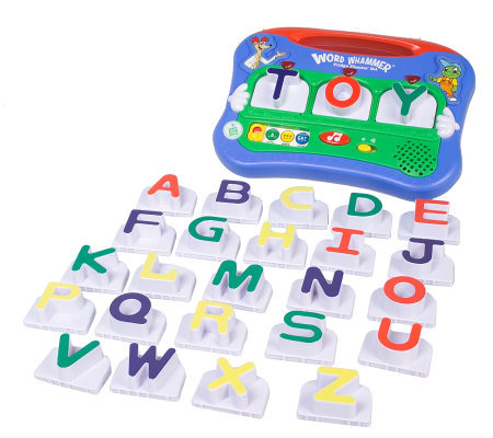 Leapfrog word whammer magnetic fridge phonics qvccom for Leapfrog three letter words