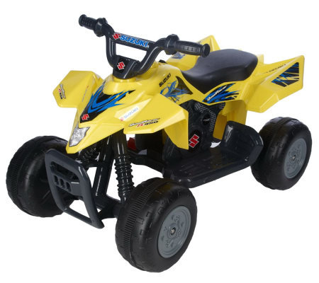 Suzuki Quad ATV 6V Rechargeable BatteryOperated Ride-on
