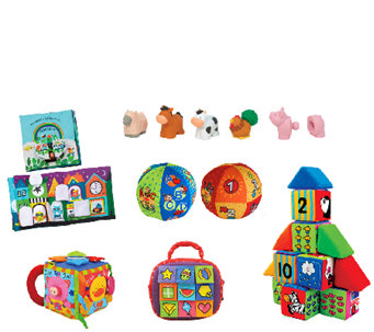 Melissa & Doug Let's Play Baby Fun Bundle - T127375