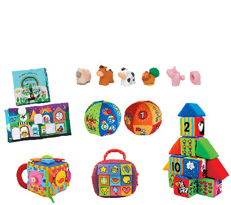 Melissa & Doug Let's Play Baby Fun Bundle